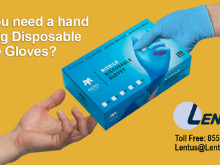 Do you need a Hand Finding Disposable Nitrile Gloves?