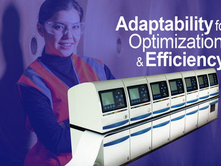 The adaptability of the PROFILE/Plus means efficiency in paper testing labs