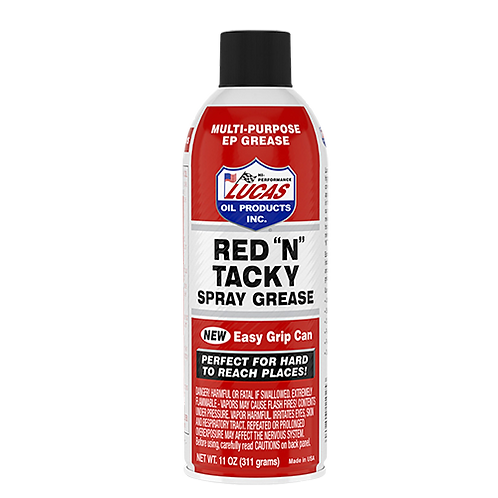 Lucas Oil Red 'N' Tacky Spray Grease