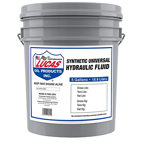 Lucas Oil Synthetic Universal Hydraulic & Transmission Fluid