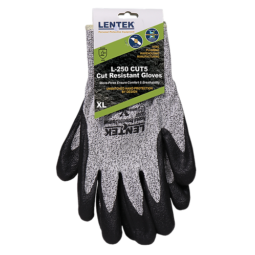 LENTEK™ L250 CUT5 Cut Resistant Gloves