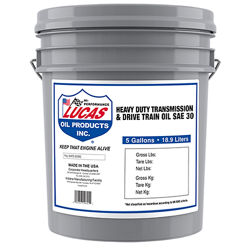 Lucas Oil Heavy Duty Transmission & Drive Train Oils