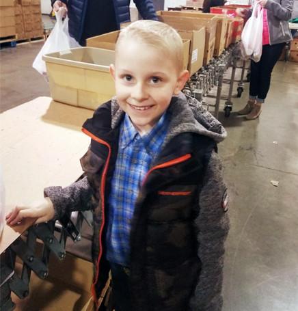 Lentus works with Feeding America, Kentucky's Heartland