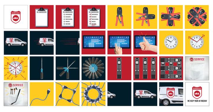 concept, design & storyboard for online promo