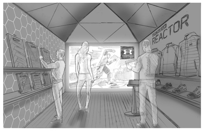 Under Armour comp illustration