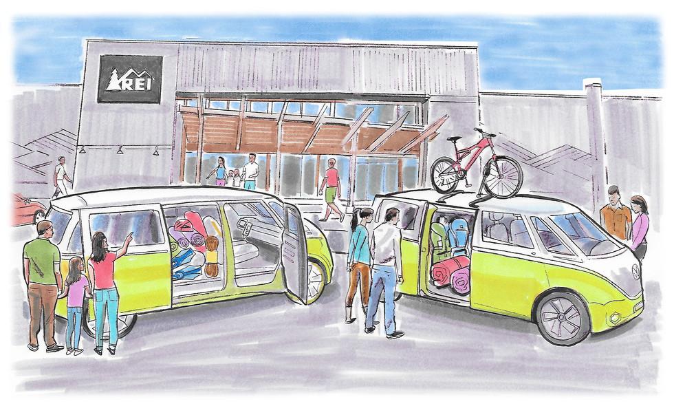 comp illustration for presentation