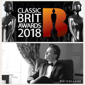 Thomas Cameron nominated for Classical Brit Award!