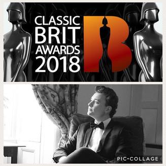 Thomas Cameron nominated for Classical Brit Award!