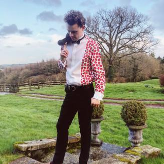 Thomas Cameron is now Brand Ambassador for London based shirt brand Just Winston!
