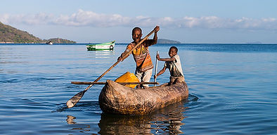 Fishing on Lake Malawi near Nkhata Bay