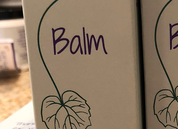 Nature's Balm - made with organic ingredients -2 oz