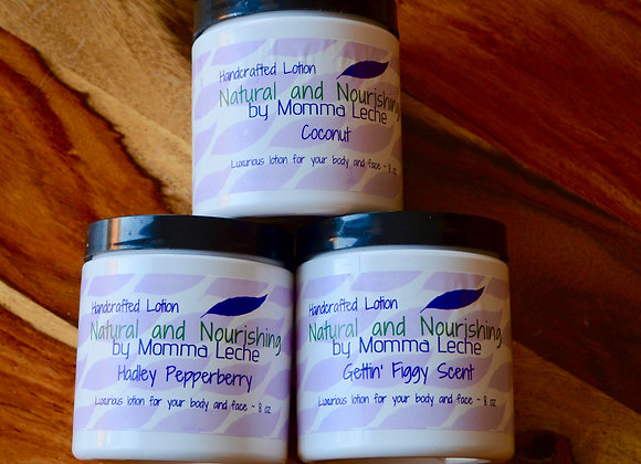 Extra Rich Lotion - made with 3x the shea butter.  Made with organic oils