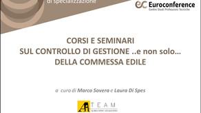 Eventi Euroconference sulla Gestione di Commessa