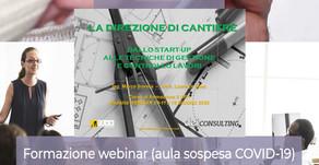 Webinar Dei Consulting Direzione Cantiere DIC 2020