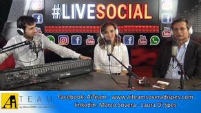 Intervista LIVE SOCIAL   Radio Roma Capitale