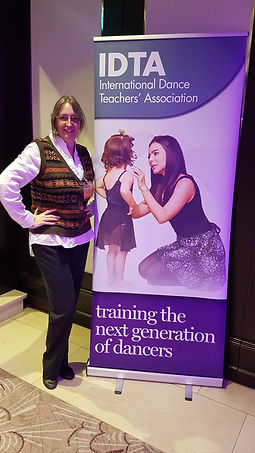 Penny at Ballroom Dancing Seminar