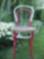 Upcycled Bentwood chair #14