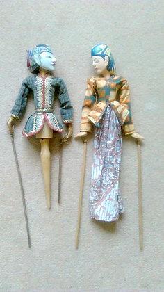 Javanese Wayang Golek puppets