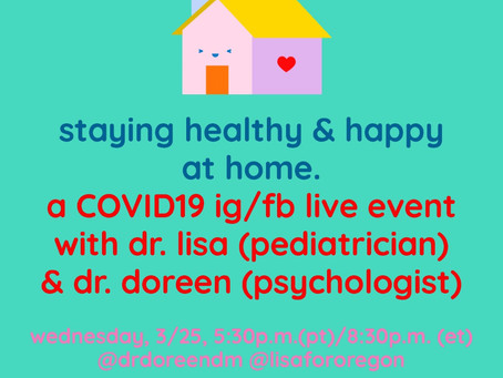 Dr Lisa and Dr Doreen Event 3/25