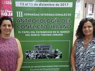 III Jornadas Internacionales de Antropología del Conflicto Urbano: El papel del patrimonio en el mar