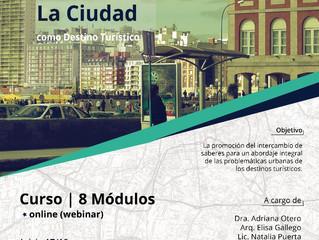 """Curso Online """"La ciudad como destino turístico"""""""