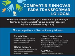 """Seminario- Taller """"Compartir e Innovar para transformar lo local"""""""