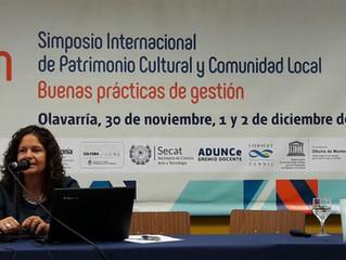Simposio Internacional de Patrimonio Cultural y Comunidad Local. Buenas prácticas de gestión.