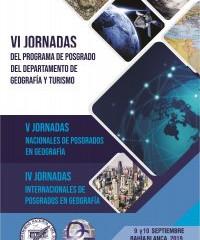 VI Jornadas de Posgrado del Departamento de Geografía y Turismo de la Universidad Nacional del Sur