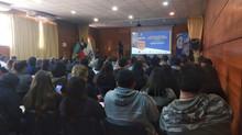 Disertación en la Universidad de La Frontera en Pucón en el marco del Día Mundial del Turismo