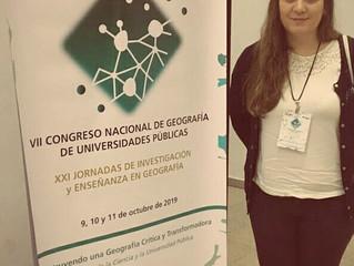 Congreso Nacional del Geografía de Universidades Públicas