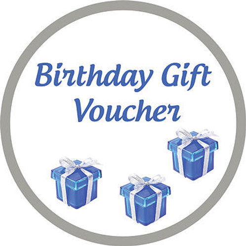 Birthday Gift Voucher - Full Colour Skin
