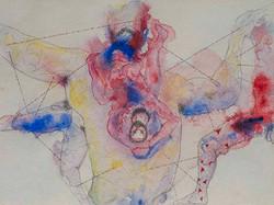 5. Of the Refrain, watercolour, pencil, 23.30 cm, 2015
