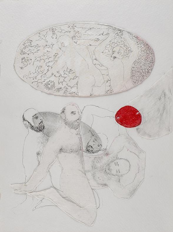29. The Passage, watercolour, pencil, 23.30 cm, 2015