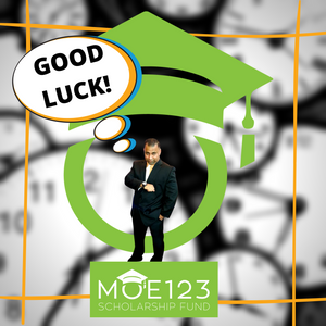 Good Luck, Future Moe123 Scholars!
