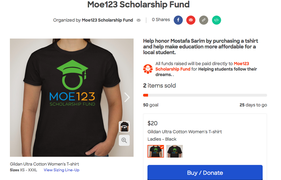 Order Your Moe123 T-Shirts Today!