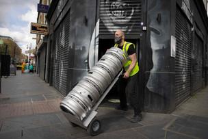 La pénurie de bière au Royaume-Uni