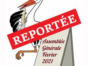 Assemblée Générale 20 Févr. 2021