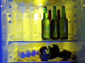 De la bière à garder au froid