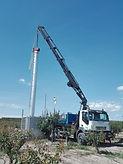 Grúas Jerezo, Camion con grúa alcance 26 metros