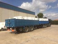 Grúas Jerezo, Camion autocargante con remolque, gruas y transportes