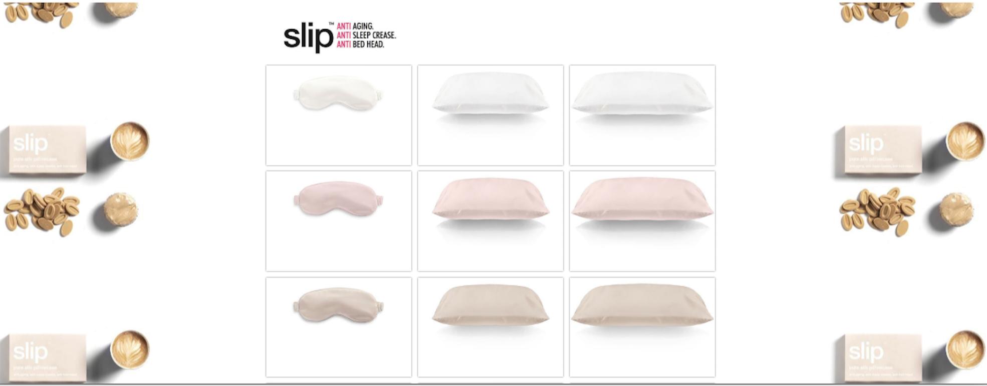 Slip online store design