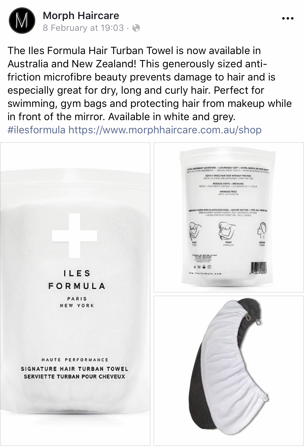 Facebook Ad's for Iles Formula