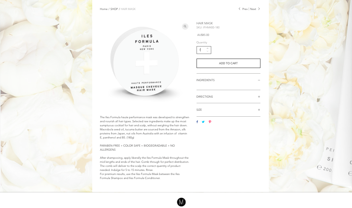 Online Store Design.