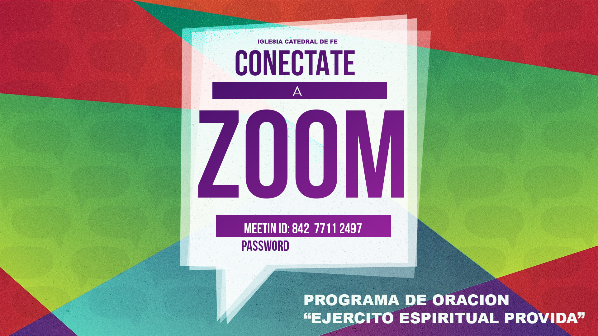 Programa de oracion zoom