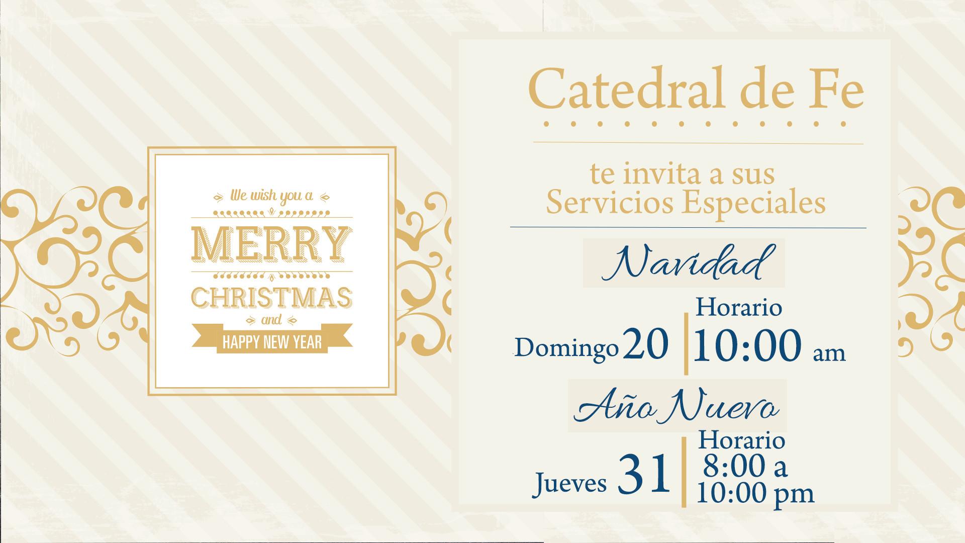 Programa de Navidad y Año Nuevo