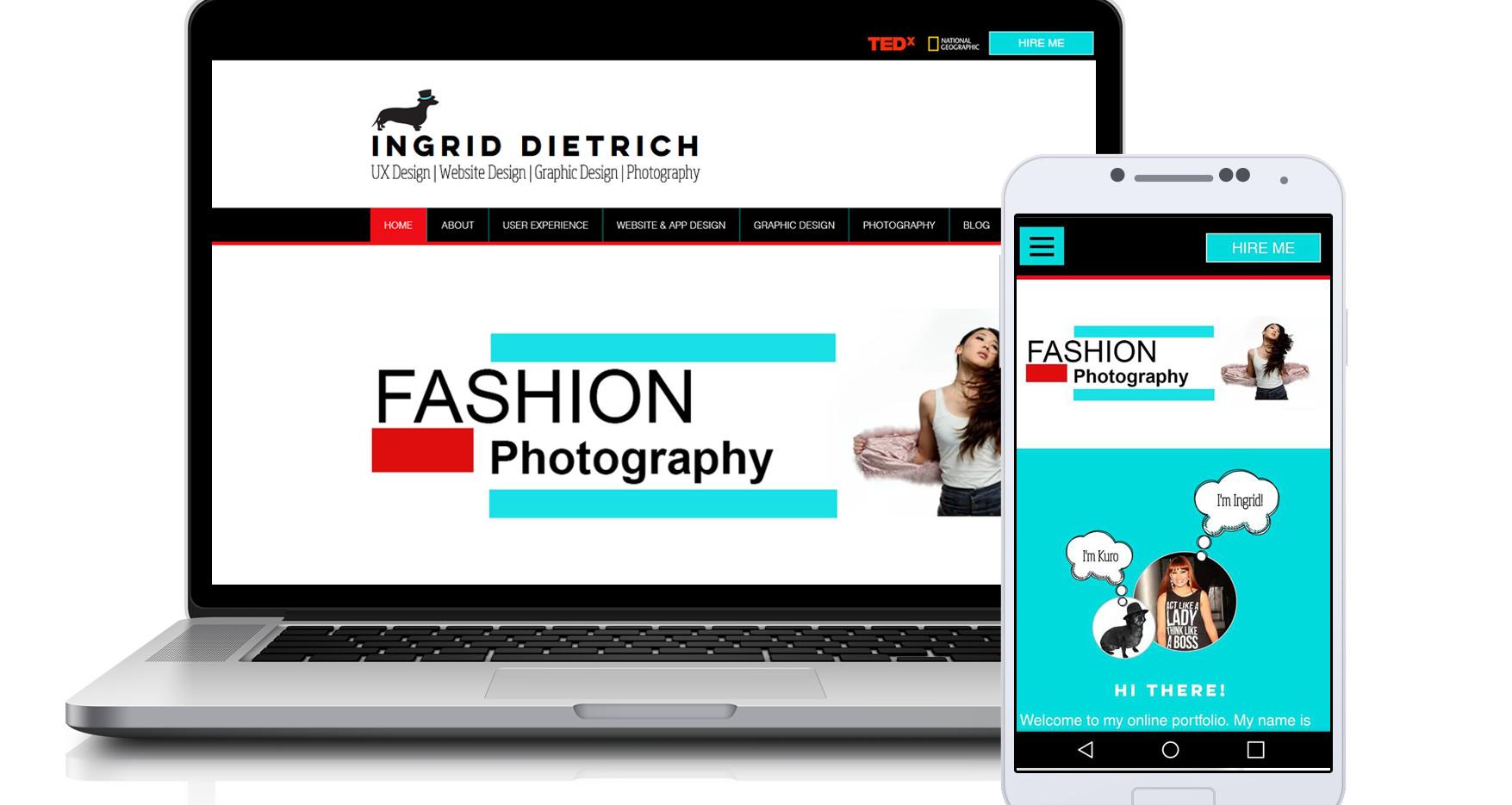 Ingrid Dietrich-Portfolio Site