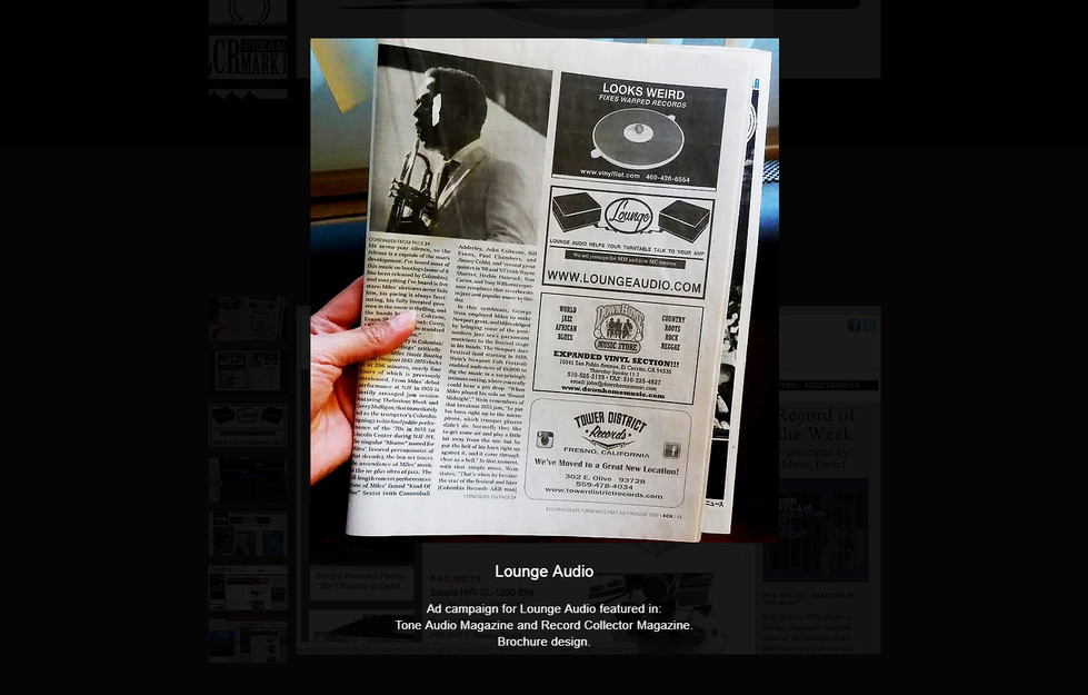 Record Collector Ad