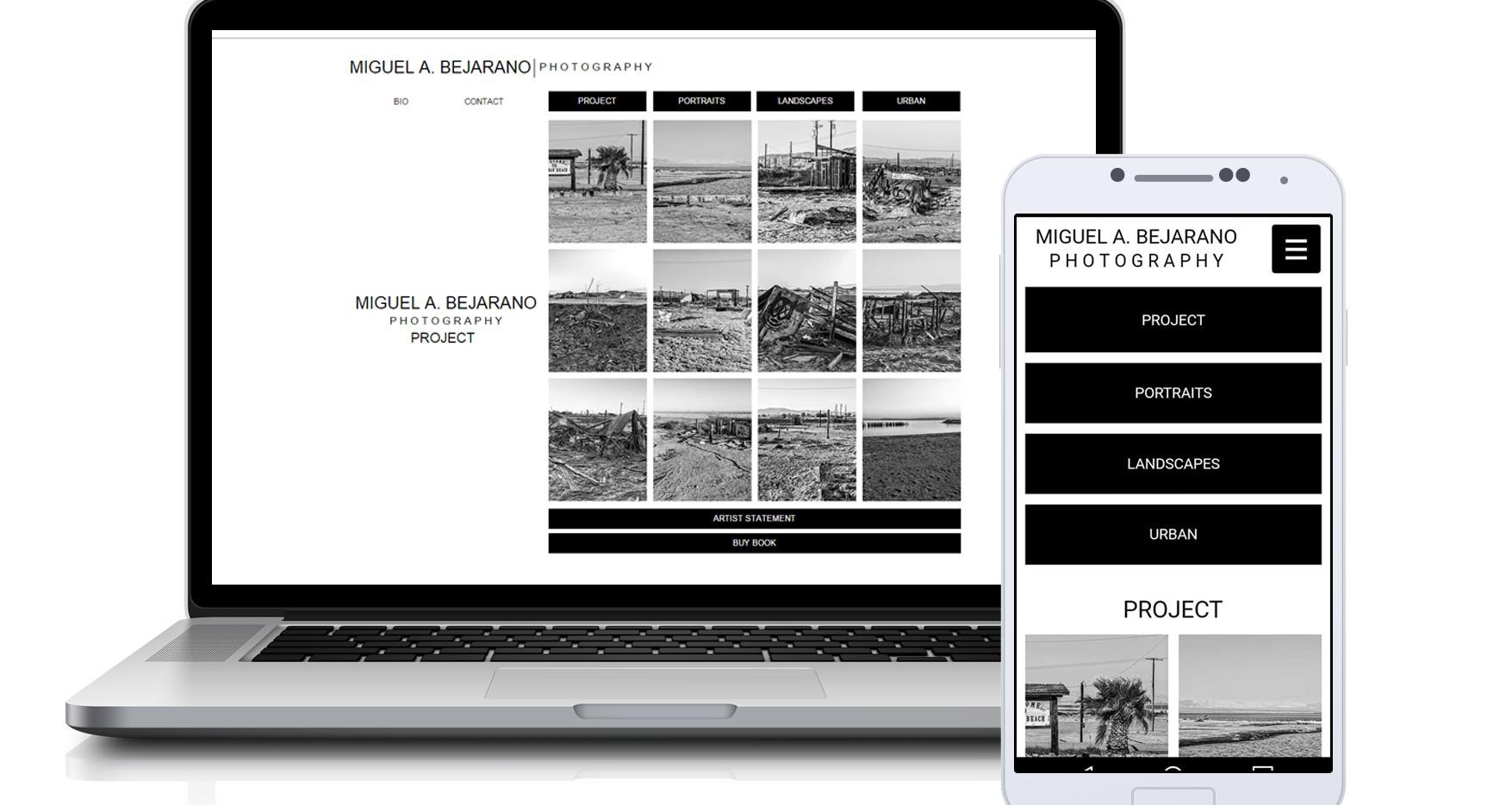 M. A. Bejarano-Portfolio Site