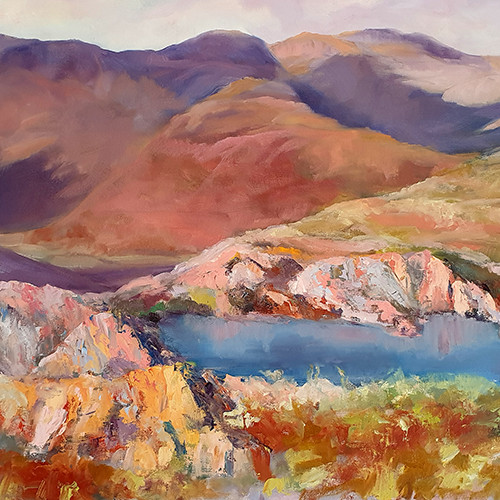 POOL WITH A VIEW PHILIPPA HEADLEY 24X30