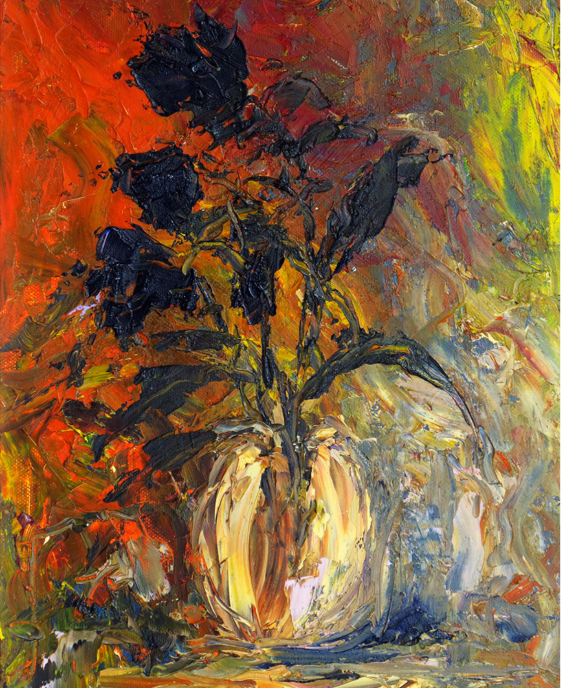 DARK FLOWERS IN THE SUNSET PHILIPPA HEADLEY